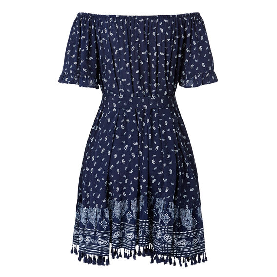 Off Shoulder Bandana Dress