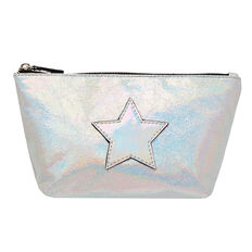 Metallic Star Zip Case