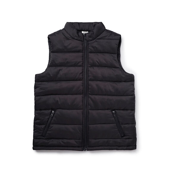 Puffa Vest With Zips