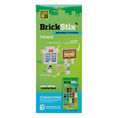 Town Reusable Stickers