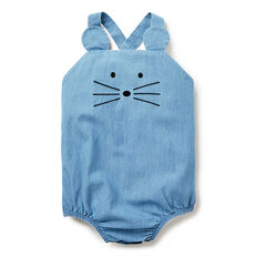 Mouse Chambray Onesie