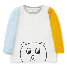 Colour Block Bear Tee