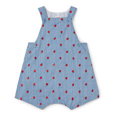 Apples Chambray Overall