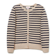 Lurex Stripe Cardigan