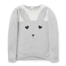 Bunny Face Sweater