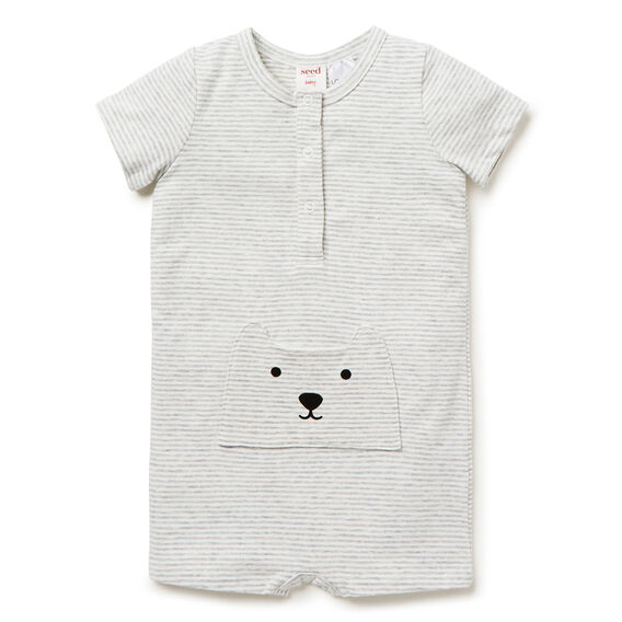 Bear Pocket Jumpsuit