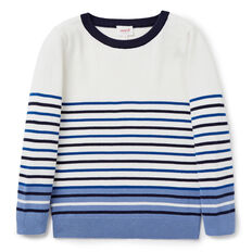 Stripe Crew Knit