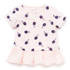 Ice-Cream Peplum Tee