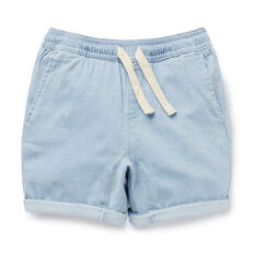 Chambray Gusset Short