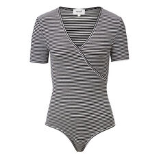 Wrap Stripe Bodysuit