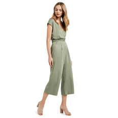 Cross Front Jumpsuit