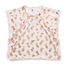 Gold Pineapple Poncho
