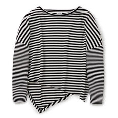 Stripe Terry Tee