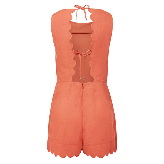 Scallop Edge Romper