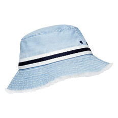Frayed Brim Bucket Hat