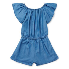 Ruffle Sleeve Playsuit