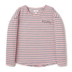 Happy Stripe Tee