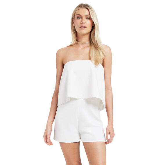 Frill Bodice Playsuit