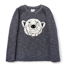 Stripe Bear Tee