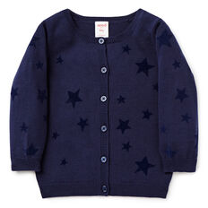Flocked Star Cardigan