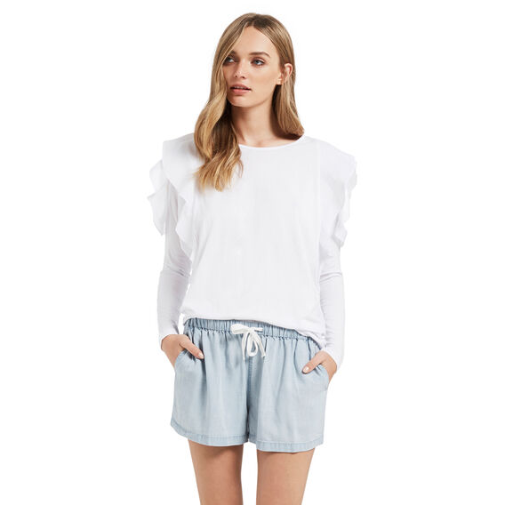 Flare Tencel Short