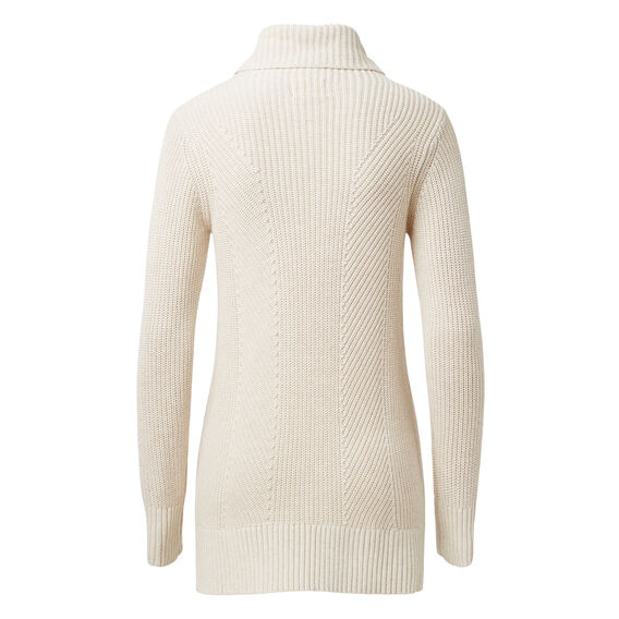 Dipped Roll Neck Sweater