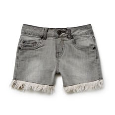 Raw Hem Denim Shorts