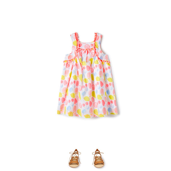 Fruity Pom Pom Dress