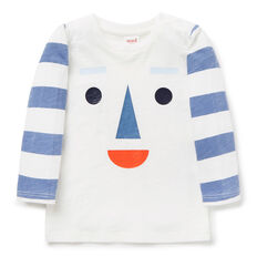 Stripe Face Tee