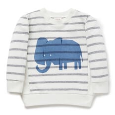 Elephant Stripe Sweater