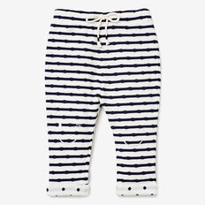 Double Knit Stripe Pant