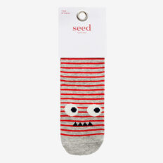 Stripe Monster Socks