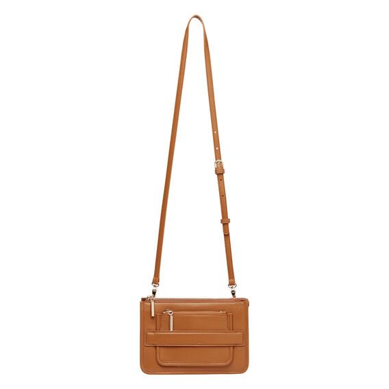 Leather Zip Sling