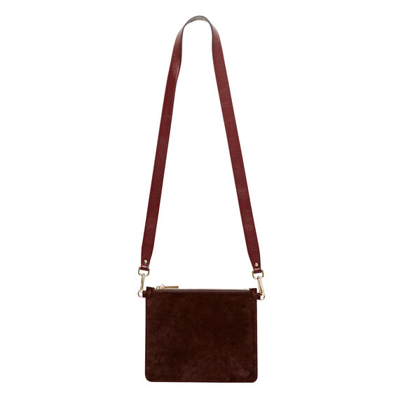 Contrast Leather Pouch
