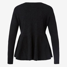 Peplum Knit Jumper
