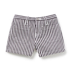 Stripe Denim Short