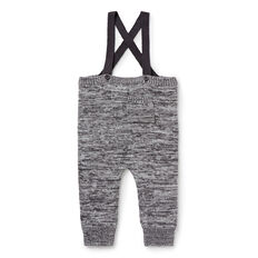 Mixy Knit Overalls