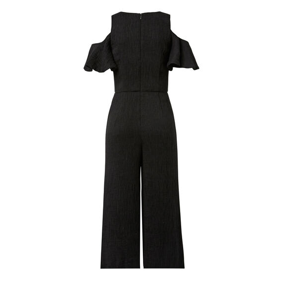 Frill Textured Jumpsuit