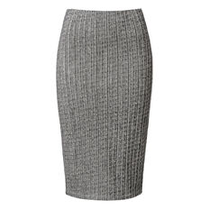 Textured Stretch Skirt