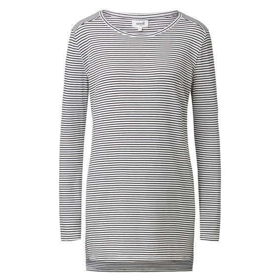 Step Stripe Long Sleeve Tee