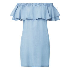 Tencel Off Shoulder Dress