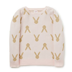 Lurex Bunny Sweater
