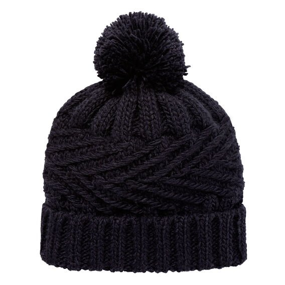 Fold Over Cable Beanie