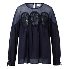 Lace Detail Blouse