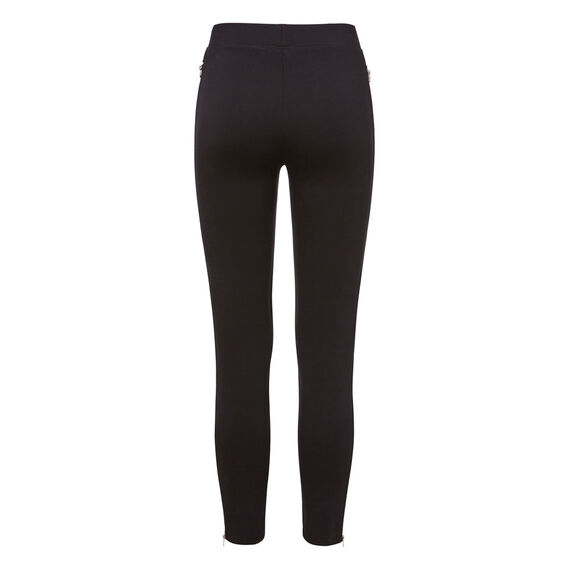 Zipper Splice Legging