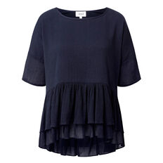 Double Frill Top