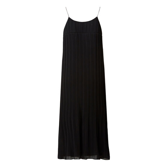 Strappy Pleat Dress