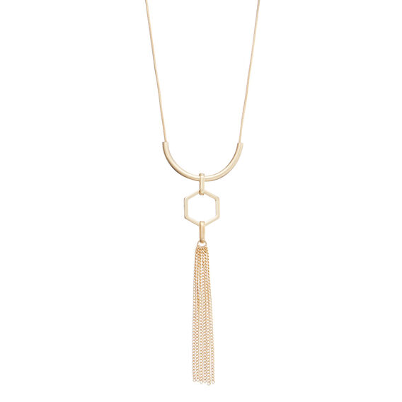 Tassel Bar Necklace