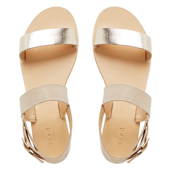 Joy Two Tone Sandal