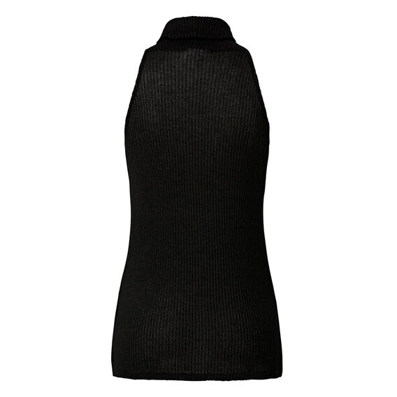 Dipped Funnel Neck Top